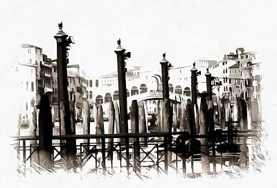 Photograph - Rialto Bridge Venice by Dorothy Berry-Lound