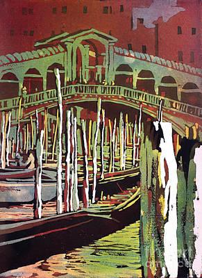 Painting - Rialto Bridge- Venice by Ryan Fox