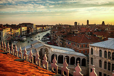 Rialto From Above Art Print