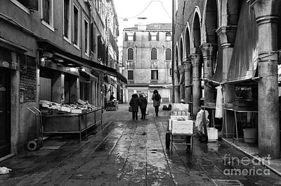 Photograph - Rialto Market Walk by John Rizzuto