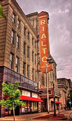 Rialto Theatre Photograph - Rialto Square Theatre by Fred Hahn