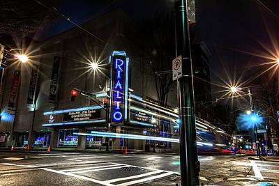Rialto Theater Art Print