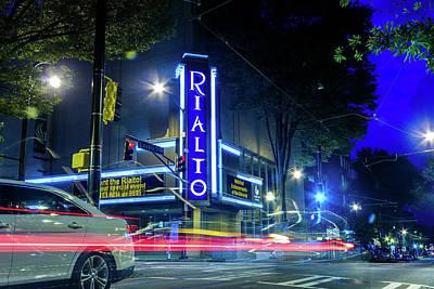 Photograph - Rialto Theater  by Kenny Thomas