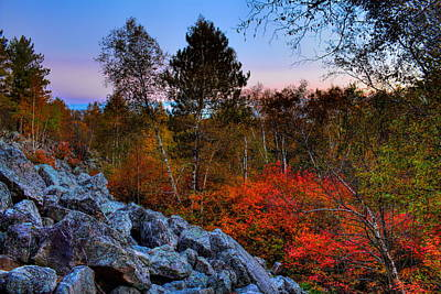 Photograph - Rib Mountain State Park Fall Afternoon by Dale Kauzlaric