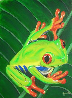 Painting - Ribbit by Lane Owen