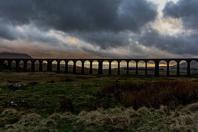 Photograph - Ribblehead Viaduct by Keith Elliott