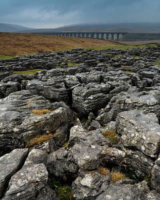 Photograph - Ribblehead Viaduct, Yorkshire, England by David Stanley
