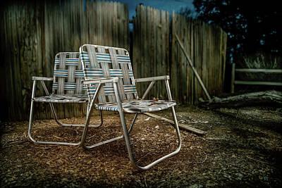 Photograph - Ribbon Chairs by YoPedro