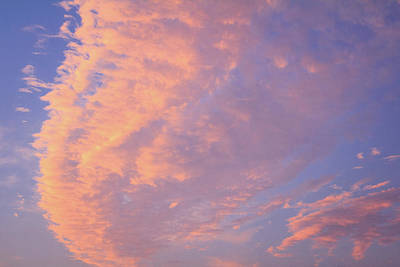 Photograph - Ribbon Of Clouds At Sunset by Joni Eskridge