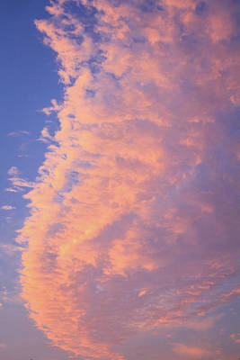 Photograph - Ribbon Of Clouds At Sunset - Portrait by Joni Eskridge