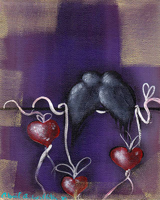 Painting - Ribbons Of Love by  Abril Andrade Griffith