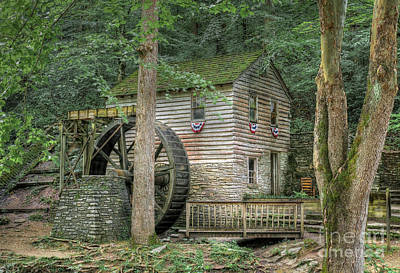 Photograph - Rice Grist Mill 2017 by Douglas Stucky