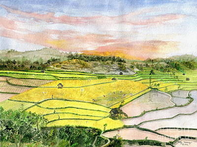Ricefield Terrace Original