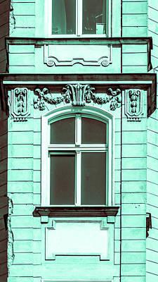 Photograph - Rich Decorative Window Trim A In Poland by Jacek Wojnarowski