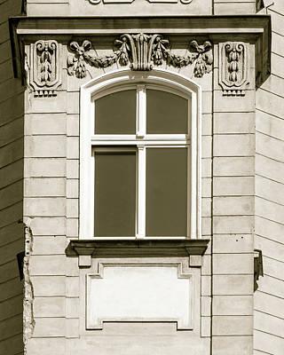 Photograph - Rich Decorative Window Trim B In Poland by Jacek Wojnarowski
