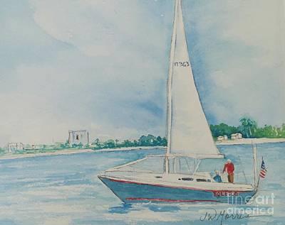 Painting - Rich On Bolero by Jill Morris