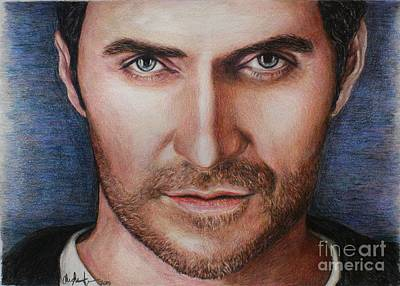 Drawing - Richard Armitage by Christine Jepsen