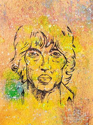 The Verve Drawing - Richard Ashcroft by Lowkey  Luciano