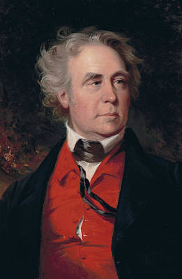 Politics Painting - Richard Mentor Johnson by John Neagle