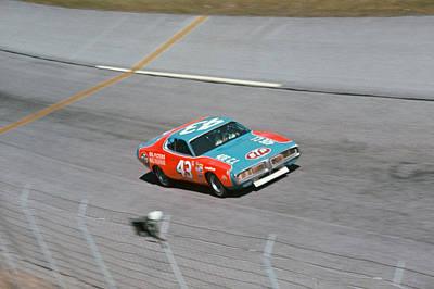 Arca Photograph - Richard Petty # 43 Stp Dodge Charger At Daytona by David Bryant