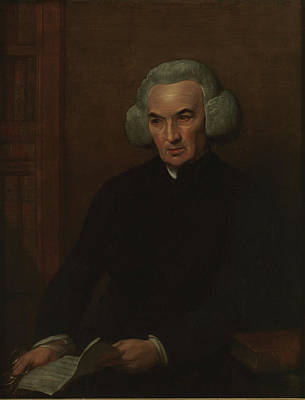 Benjamin West Painting - Richard Price by Benjamin West