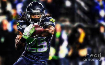 Mixed Media - Richard Sherman Collection by Marvin Blaine