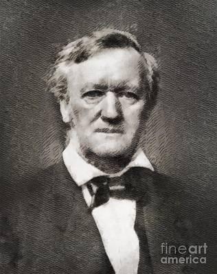 Richard Wagner, Composer Art Print by John Springfield