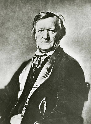 Conductor Photograph - Richard Wagner by Unknown