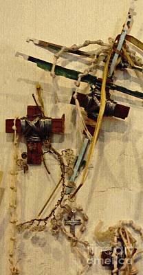 Photograph - Richard's Crosses by Sarah Loft
