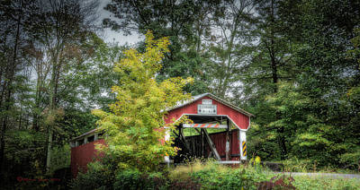 Covered Bridge Photograph - Richards No 31 by Marvin Spates