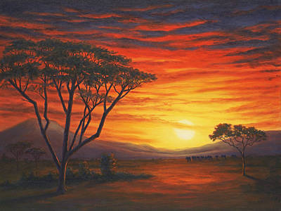 Riches And Beauty, Out Of Africa Art Print by Elaine Farmer