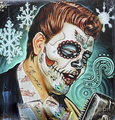 cde2bd1eaac Dia De Los Muertos Photograph - Richie Valens Day Of The Dead by Chuck Kuhn