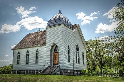 Photograph - Richland Christian Church by Lynn Sprowl