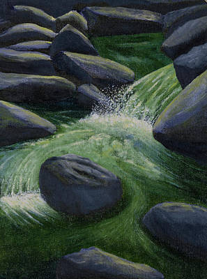 Painting - Richland Creek Arkansas Ozarks by Garry McMichael