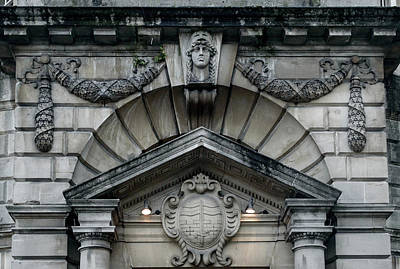 Photograph - Richly Decorated Entrance To Victoria Art Gallery In Bath by Jacek Wojnarowski