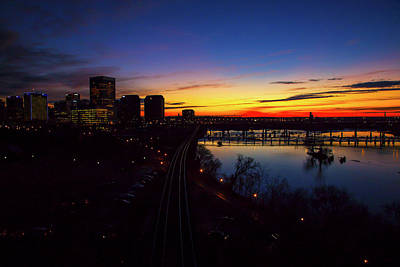 Wall Art - Photograph - Richmond Before Sunrise by Cliff Middlebrook