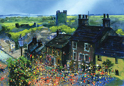 Richmond Carnival In Frenchgate Print by Neil McBride
