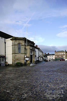 Market Photograph - Richmond Market Place by Nichola Denny