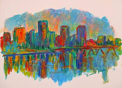 Painting - Richmond On The James by Kendall Kessler