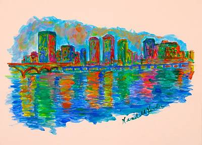 Painting - Richmond Ripples by Kendall Kessler
