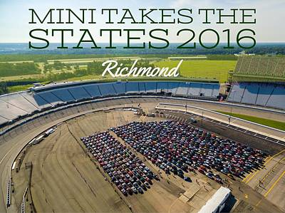 Photograph - Richmond Rise/shine W/text by That MINI Show