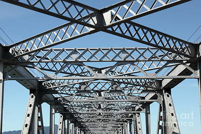 Photograph - Richmond San Rafael Bridge In California 5d21454 by San Francisco Art and Photography