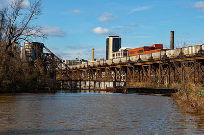 Photograph - Richmond Skyline 11 Color by Joseph C Hinson Photography