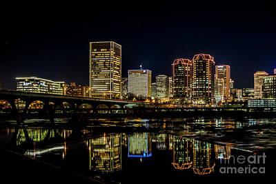 Photograph - Richmond Skyline 61 0761 by Doug Berry