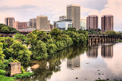 Photograph - Richmond Skyline by JC Findley