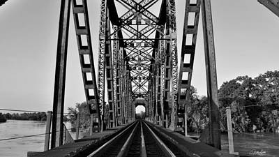 Photograph - Richmond Texas Railroad Bridge by Nathan Little