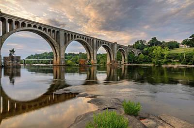 Photograph - Richmond Train Bridge by Michael Donahue