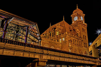 Wall Art - Photograph - Richmond Train Station by Cliff Middlebrook