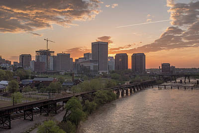 Photograph - Richmond Va Spring Sunrise by Doug Ash