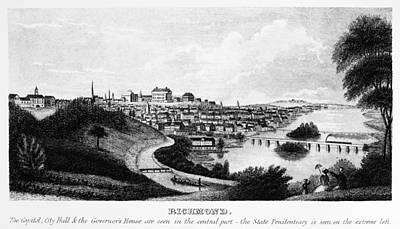 Richmond, Virginia, 1856 Print by Granger